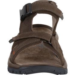 皮革行山涼鞋 NH120 - 啡色 - 男裝