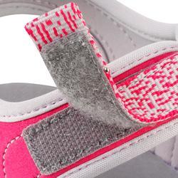 Wandersandalen NH100 Kinder Mädchen rosa