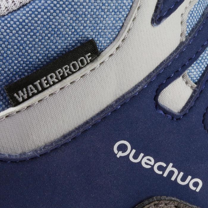 Chaussures de randonnée enfant NH500 Mid imperméables JR corail - 1125631
