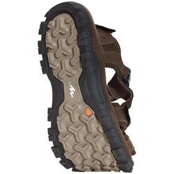 Sandalias de senderismo naturaleza NH120 marrón hombre