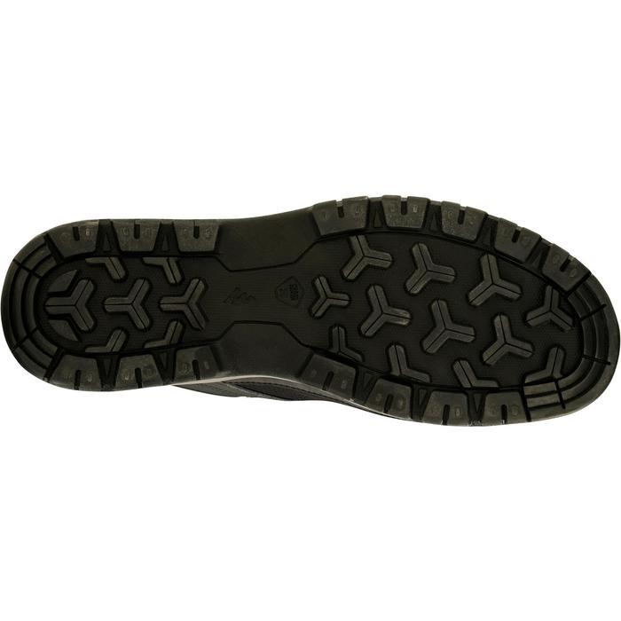 Chaussure de randonnée nature NH300 imperméable noire homme - 1125667