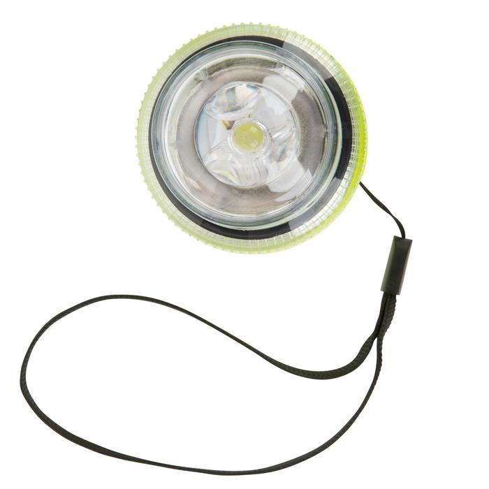 Lampe flashlight de repérage bateau jaune - 1125821