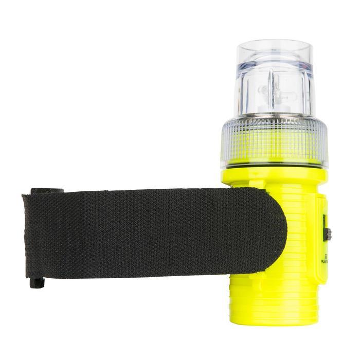 Lampe flashlight de repérage bateau jaune - 1125823