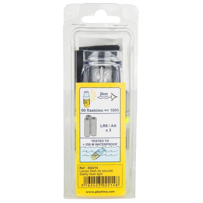 Lampe flashlight de repérage bateau jaune - 1125832