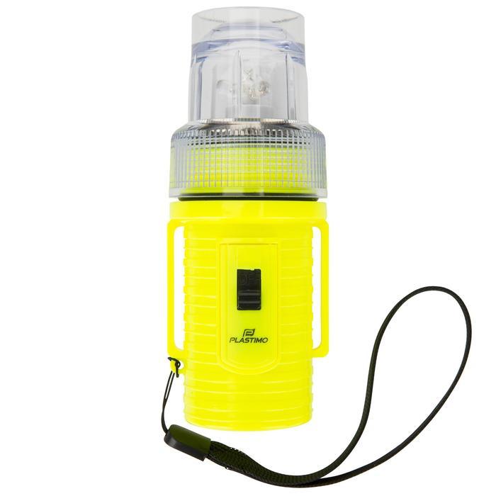 Lampe flashlight de repérage bateau jaune - 1125842