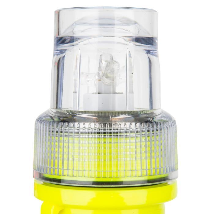 Lampe flashlight de repérage bateau jaune - 1125848