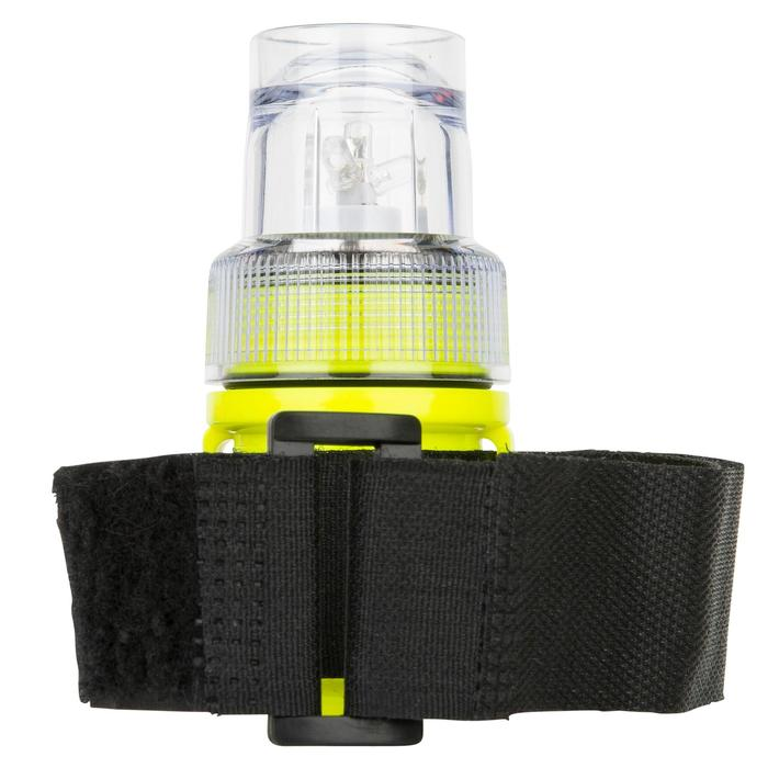 Lampe flashlight de repérage bateau jaune - 1125853