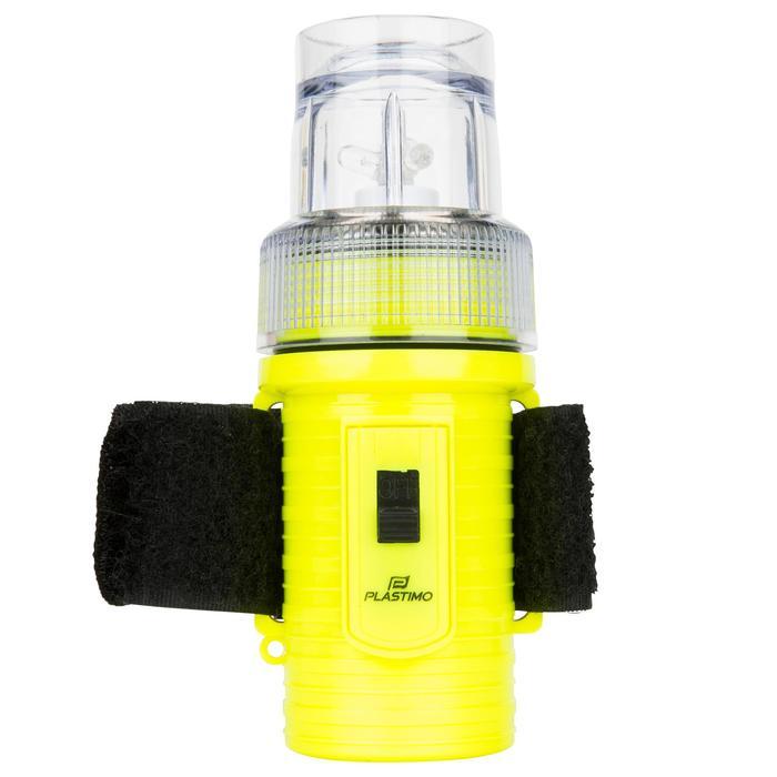 Lampe flashlight de repérage bateau jaune - 1125855