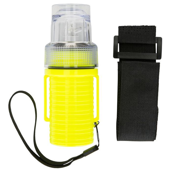 Lampe flashlight de repérage bateau jaune - 1125859
