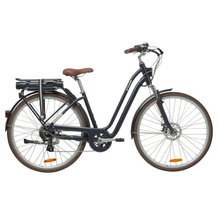 "E-Bike City Bike 28"" Elops 900E LF tiefer Einstieg blau"