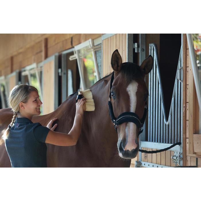 Bouchon poils longs équitation SENTIER bois