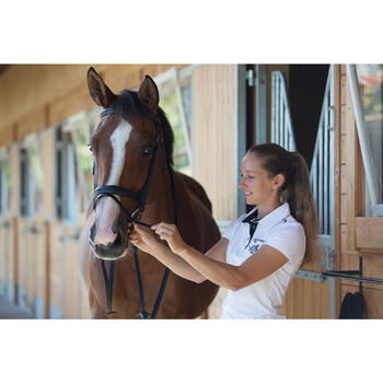 Filet + rênes équitation cheval et poney EDIMBURGH - 1126011