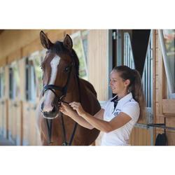 Hoofdstel + teugels ruitersport paard en pony Edimburgh zwart
