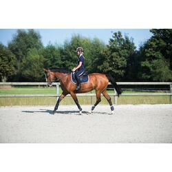 "Sattel Paddock VS Leder mit verstellbarem Sattelbaum 17,5"" schwarz"