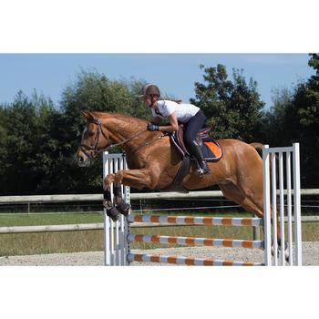 Springglocken Optimum Protect offen für Pony/Pferd 2 Stück braun