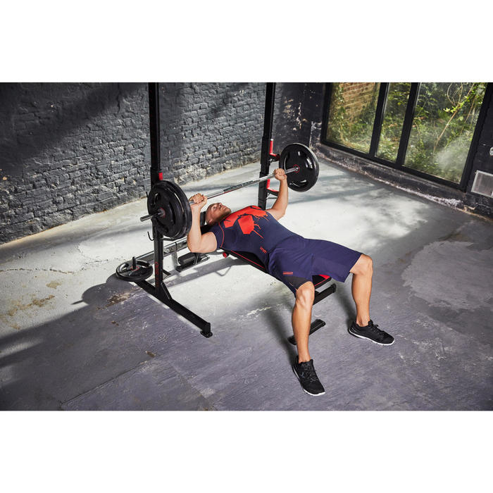 Banc de musculation 500 pliable et inclinable