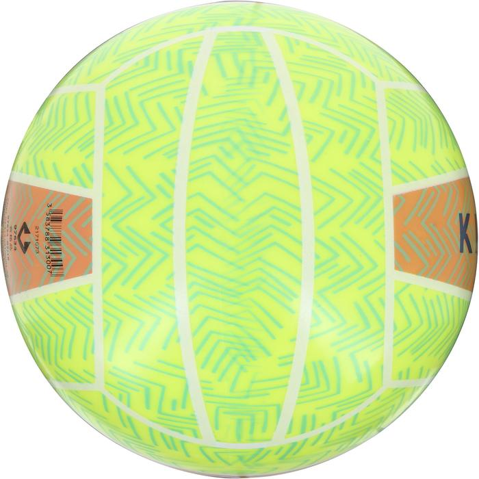 Ballon de beach-volley BV100 jaune et - 1126234