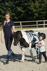 Compleet en kunststof ponyzadel Initiation ruitersport - 1126309