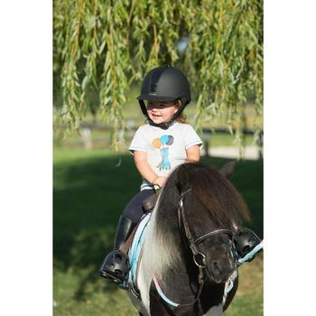 Bottes équitation enfant SCHOOLING BABY noir - 1126319