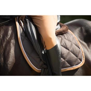 Reithose BR560 Grip Silikon-Kniebesatz Damen camel