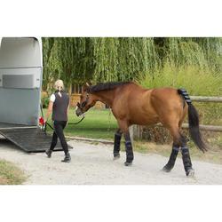 Ruhebandagen 2er-Pack mit Unterlagen Pferd schwarz