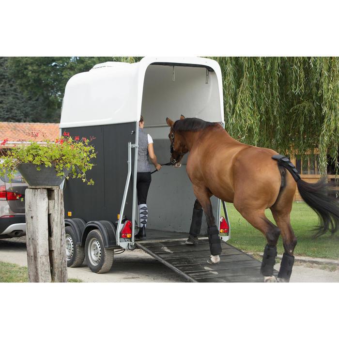 4 transportbeschermers Traveller 300 ruitersport paard zwart