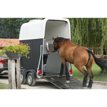 Transportgamaschen Traveller 300 Pferd 4er-Set schwarz