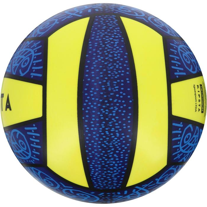 Ballon de beach-volley BV100 jaune et - 1126371