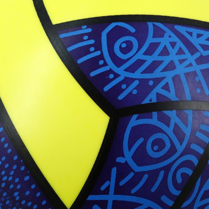 Minibeachvolleybal BV100 blauw geel