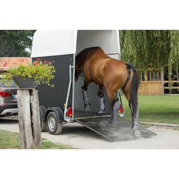 Transportgamaschen Traveller 500 Pferd 4 Stück schwarz/grau