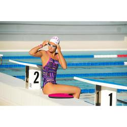 Triangle Swimming Kickboard - Pink Dark Blue