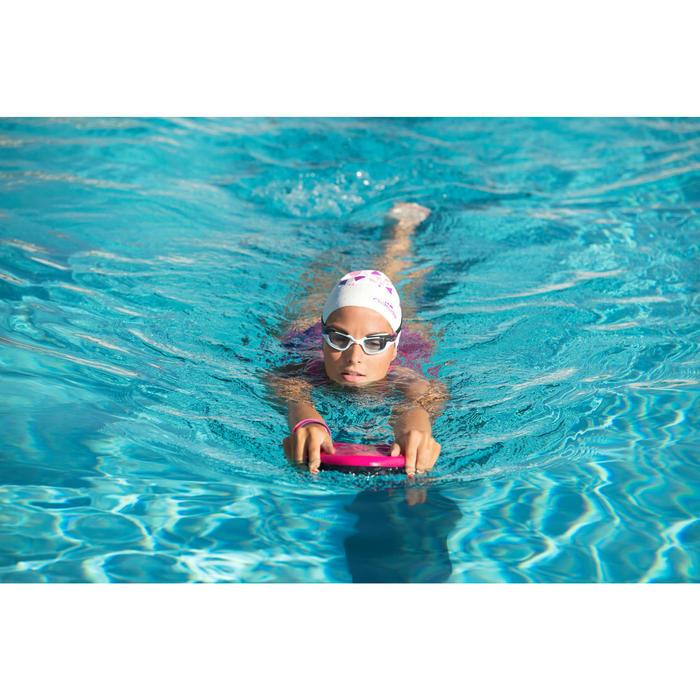 三角形游泳浮板-粉紅深藍色