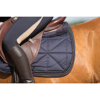 Amortisseur de dos mousse équitation - cheval et poney LENA POLAIRE - 1126421