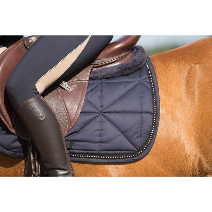 Salvacruz de espuma equitación - caballo y poni LENA POLAR azul marino