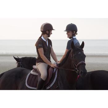 Amortisseur de dos mousse équitation cheval et poney LENA POLAIRE - 1126466