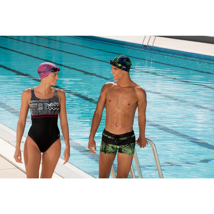 Maillot de bain de natation une pièce femme Loran corail - 1126470