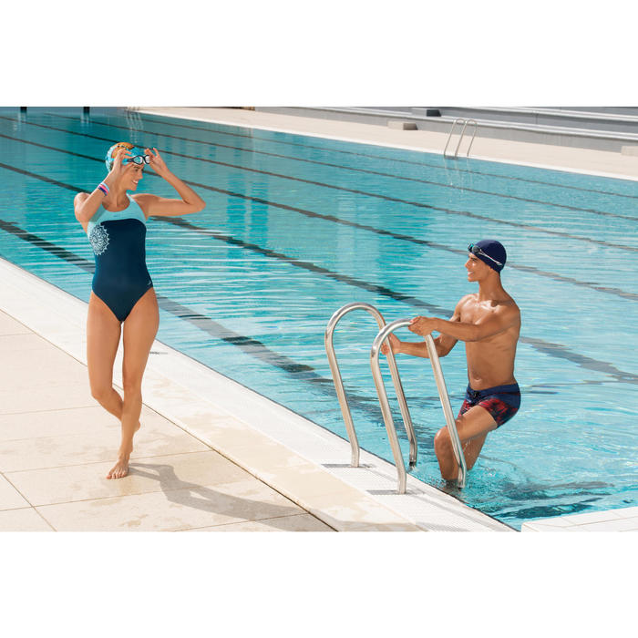 Maillot de bain de natation une pièce femme Leony - 1126471