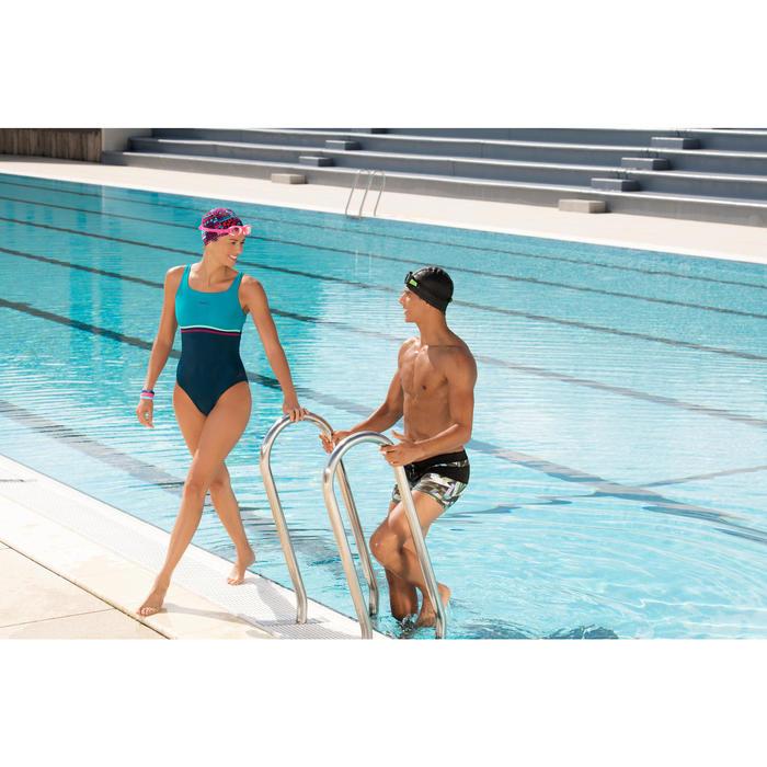 Maillot de bain de natation une pièce femme Loran corail - 1126472