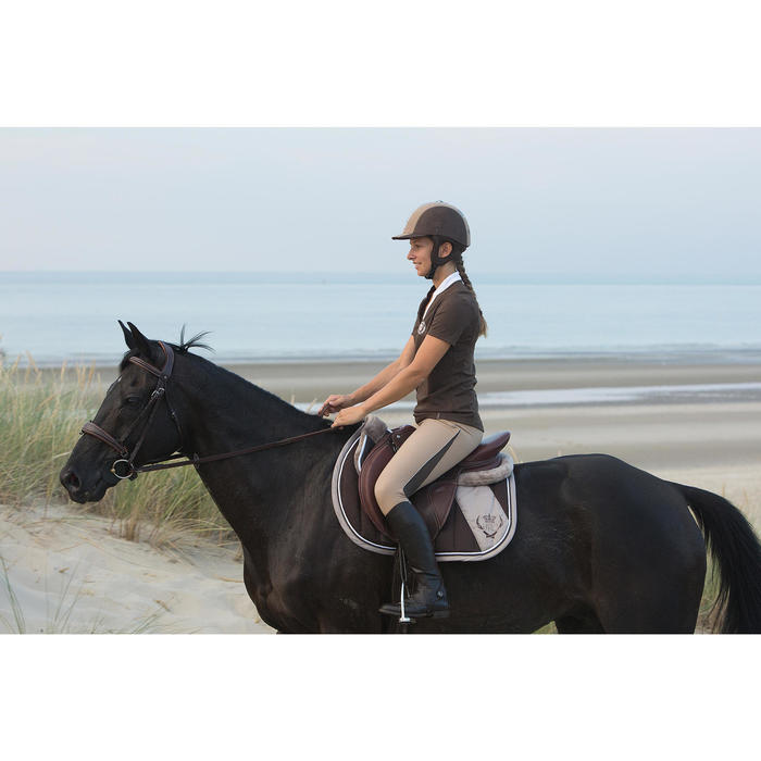 Filet + rênes équitation PULL BACK - taille cheval - 1126494
