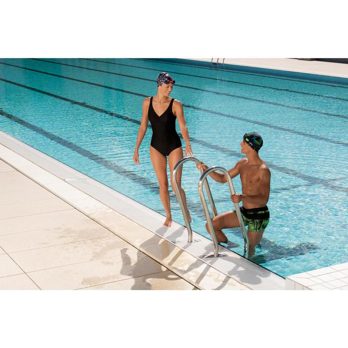 Schwimmbrille Easydow Erwachsene schwarz/grün