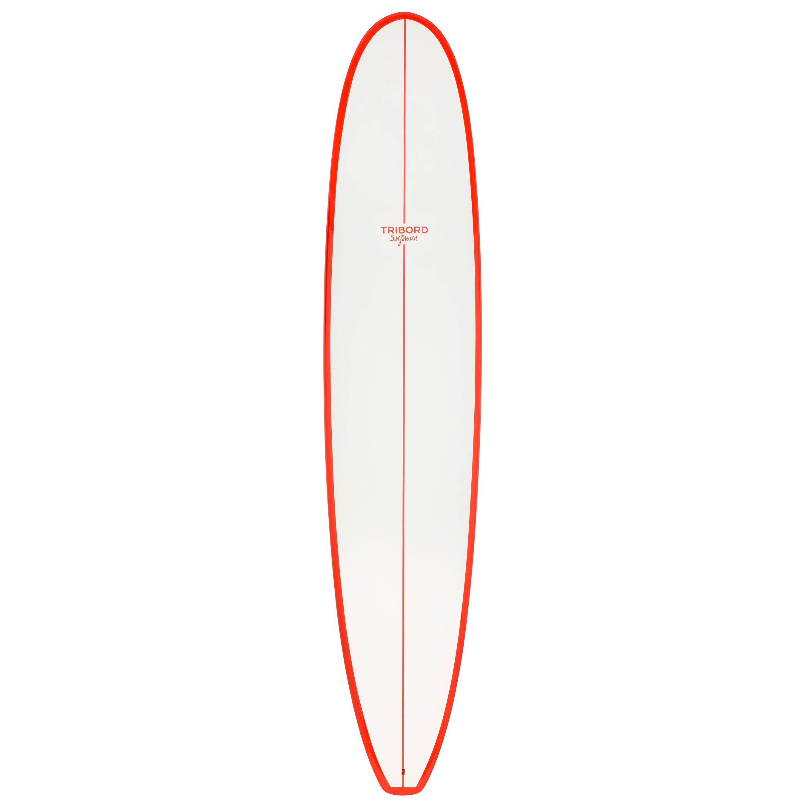 b7105d5c72b877 Olaian Surfboard 500 9' longboard met FCS-vinnen