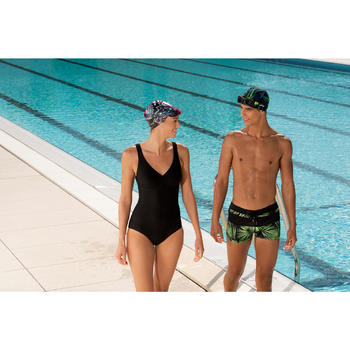 Zwembrilletje Easydow maat L zwart groen