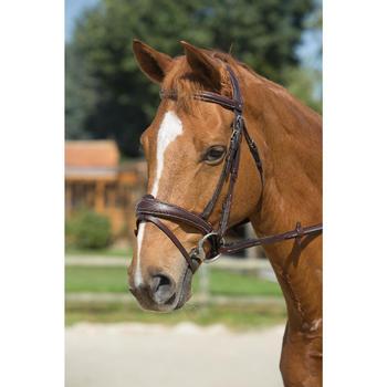 Filet + rênes équitation PULL BACK - taille cheval - 1126605