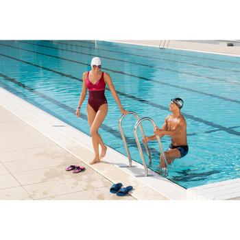 Zwemboxer voor heren B-Active Fun Alopi blauw