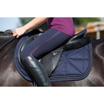 Schabracke Strass Pony/Pferd marineblau