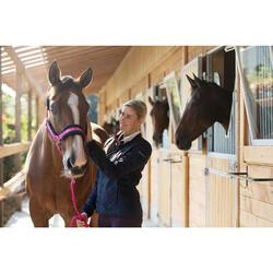Cabestro + ronzal equitación poni y caballo WINER rosa