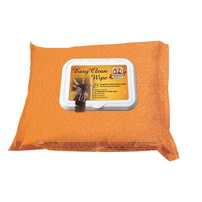 Feuchtigkeitstücher/ Pflegetücher Easy Clean für Leder 25-Pack