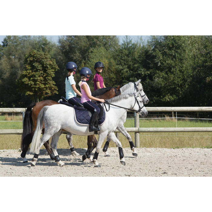 Trense + Zügel Schooling Leder Pony/Pferd schwarz