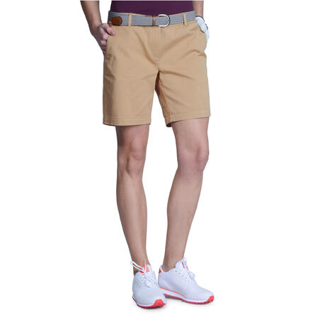 Women's Golf Bermuda Shorts 500 - Beige