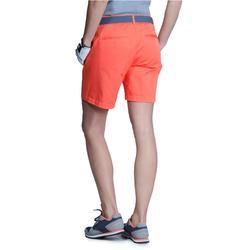Women Golf Shorts 500 - Coral